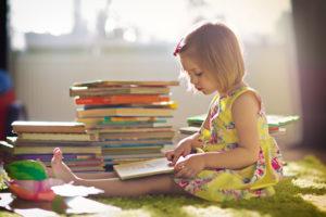 Чтение детских учебников